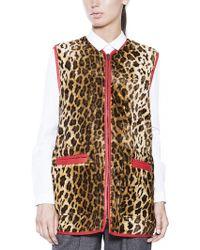 Rachel Comey Fur Noble Vest - Lyst