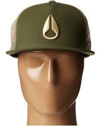 Nixon Deep Down Trucker Hat - Lyst