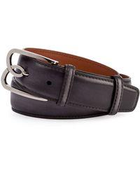 Berluti | Metal-logo Leather Belt | Lyst