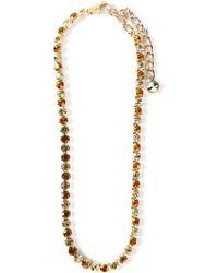 Dolce & Gabbana Crystal Beaded Belt - Lyst