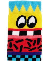 Lazy Oaf - Face It Socks - Lyst