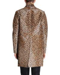 Burberry Prorsum - Leopard Print Coat - Lyst