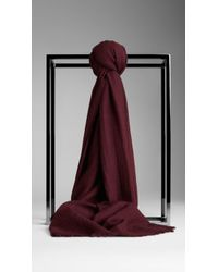Burberry Cashmere Scarf - Lyst