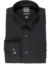 Calvin Klein Slim Fit Twopocket Ls Dress Shirt - Lyst
