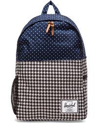 Herschel Supply Co. Blue Jasper Backpack - Lyst