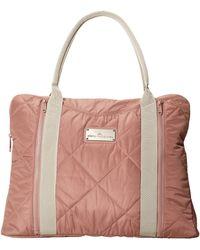 Adidas By Stella Mccartney Beige Yoga Bag - Lyst