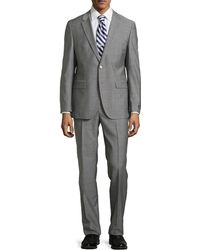 Hugo Boss Grand Central Windowpane Two-Piece Suit - Lyst