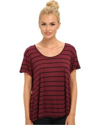 Volcom Lived in Rib Tee - Lyst