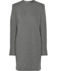 Haider Ackermann Knitted Woolblend Dress - Lyst