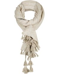 Sandwich - Scarf With Tassels - Lyst