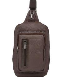 Barneys New York - Men's Crossbody Backpack - Lyst