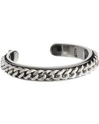 Cheap Monday - Chain Bangle Bracelet - Lyst