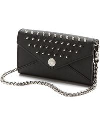Rebecca Minkoff Mini Wallet On A Chain - Lyst
