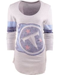 Nike Womens Long-sleeve Tennessee Titans T-shirt - Lyst