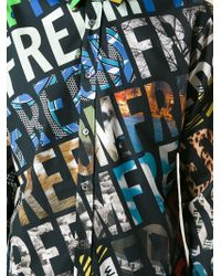 Moschino Freedom Print Shirt - Lyst