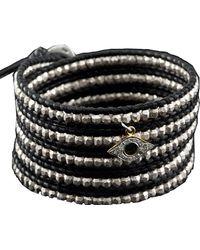Chan Luu - Sterling Silver Bead Wrap Bracelet - Lyst