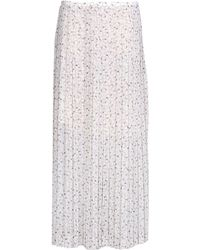 See By Chloé Long Skirt white - Lyst