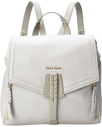 Cole Haan White Felicity Backpack - Lyst