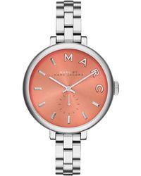 Marc By Marc Jacobs Women'S Sally Stainless Steel Bracelet Watch 36Mm Mbm3365 - Lyst