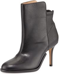 Maison Martin Margiela Stretchback Leather Ankle Boot - Lyst