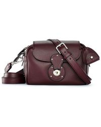 Ralph Lauren Small Ricky Zip Crossbody - Lyst