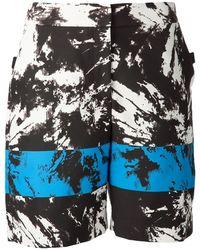 Alexander Wang Low Waisted Shorts - Lyst