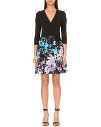 Diane von Furstenberg - Valerie Wrap-front Floral Dress - Lyst