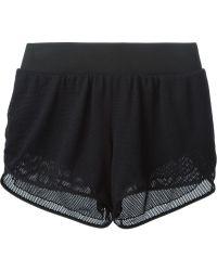 Michi - 'Strata' Running Shorts - Lyst