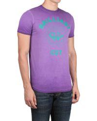 DSquared² Cotton T-Shirt Brilliant Cut Print - Lyst