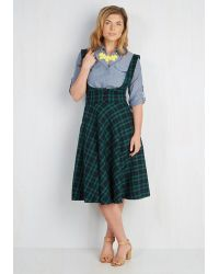 Collectif Clothing - Equation Occasion Jumper In Emerald - Lyst