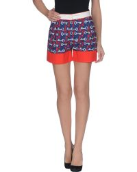 See By Chloé Shorts blue - Lyst