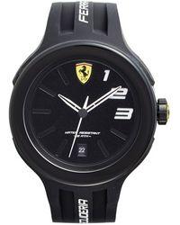 Scuderia Ferrari - 'fxx' Silicone Strap Watch - Lyst