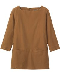 Toast - Bedford Cord Tunic Top - Lyst