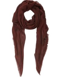Barneys New York Stonewashed Oversize Scarf - Lyst