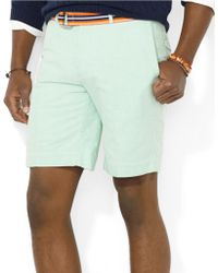 Polo Ralph Lauren Classic-Fit Hudson Oxford Shorts - Lyst