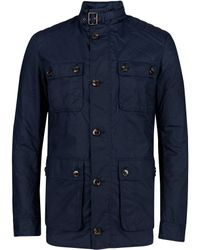 Ted Baker - Orynew Cotton Wax Coat - Lyst