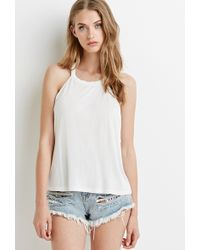 Forever 21 Braided T-Back Tank - Lyst
