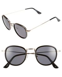 A.J. Morgan - 'prudent' 48mm Retro Sunglasses - Lyst