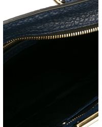 Burberry - Pebbled Tote - Lyst