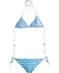 Missoni Reversible Bikini - Lyst