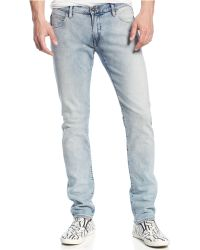 Armani Jeans Blue Light Wash - Lyst