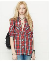 Denim & Supply Ralph Lauren Long-sleeve Plaid Utility Shirt - Lyst
