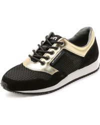 United Nude | Runner Sneakers - Gold/Black | Lyst