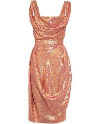 Vivienne Westwood Red Label - DNA Lamé Dress - Lyst