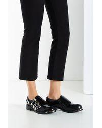 Jeffrey Campbell Kelmore Monk Strap Shoe - Black
