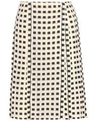 Proenza Schouler Silk-Blend Skirt - Lyst