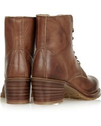 Frye - Sabrina Leather Boots - Lyst