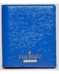 Kate Spade Wallet - Cedar Street Patent Small Stacy Bi-fold - Lyst