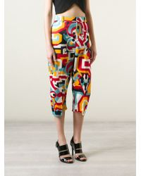 DSquared² Cropped Trousers - Lyst