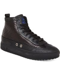 John Galliano Quilted High-Top Sneakers - Lyst